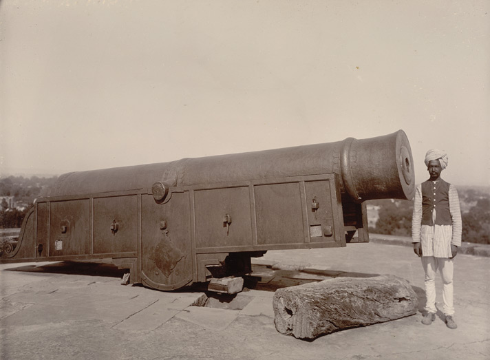 Big Gun in Deeg fort